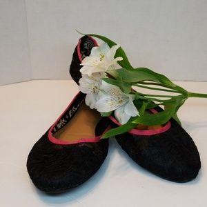 Nicole lace ballet flats
